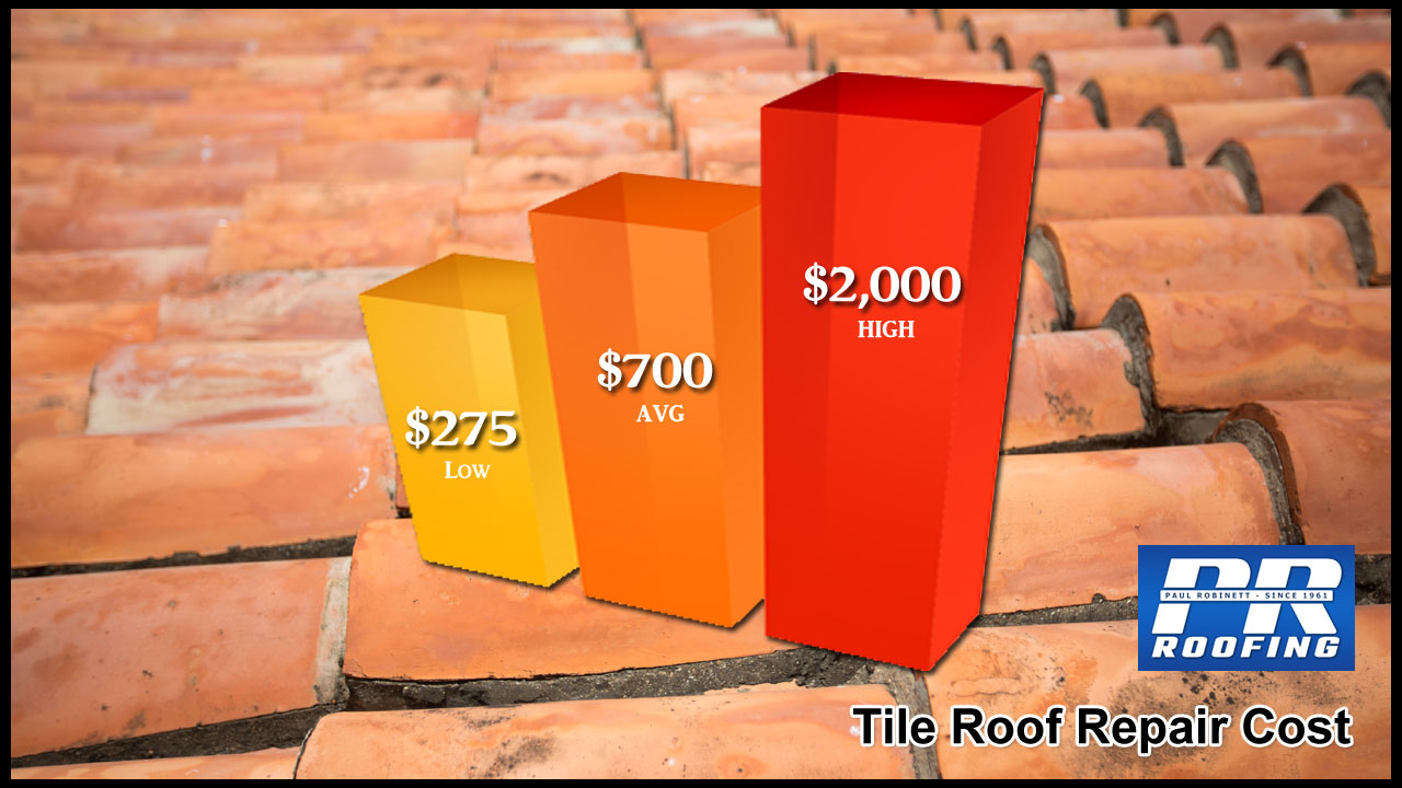 Tile Roof Repair Cost Phoenix